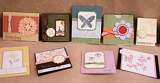 SBD Shoebox Swap Cards - May 08