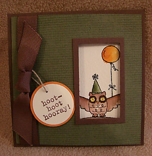 Owl Together Now Swap Card OHS
