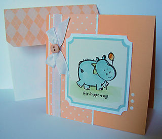 Pun Fun Hippo Card OHS
