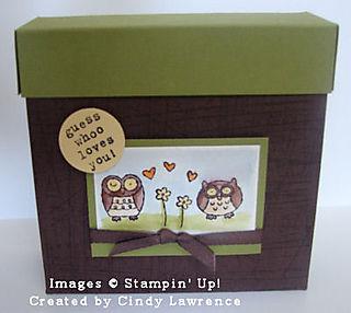Owl Card Box - Demo Class OHS