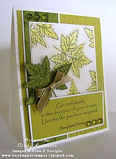 Botanical Leaves - OHS