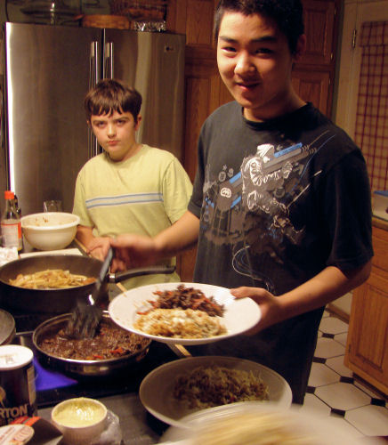 Dae Ho Cooking Nov 26 2008