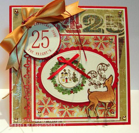 Betty Wight - Christmas RAK Flourishes
