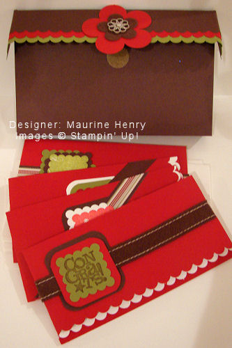 Maurine's Christmas Gift Exchange Cards - OHS