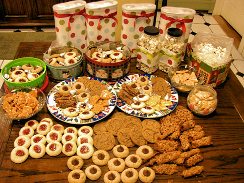 Christmas Baking 2008