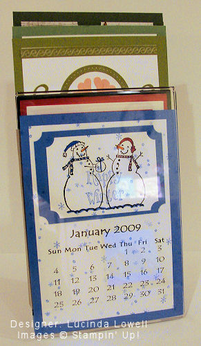 Lucinda's Christmas Gift Exchange Calendar - OHS