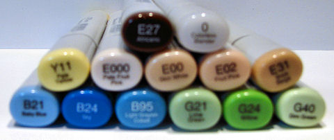 Our Love 2 Copic Colors - OHS