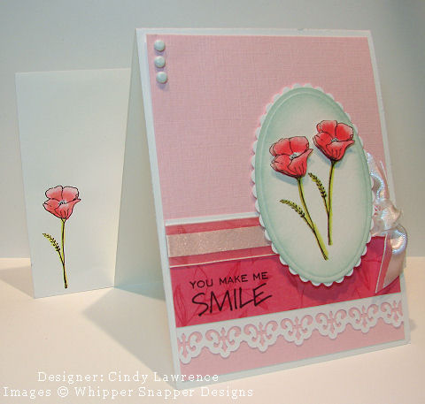 Stamp NE Watercolor Class Pink Card - OHS