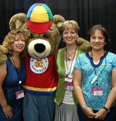 Kathi, Carol & I with Build a Bear