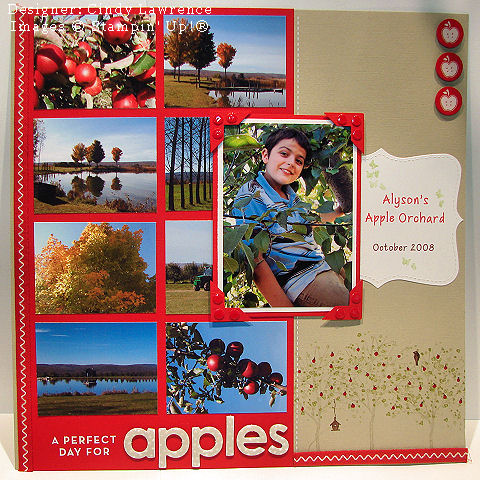Artisan submission 09 apple orchard scrapbook page - ohs