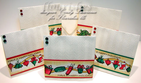 Christmas Borders 1 Cards - OHS