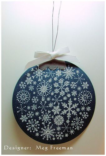 Ornament Tag - Meg