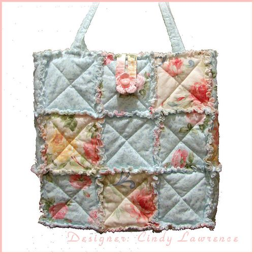 Rag Quilt Tote 1 - OHS