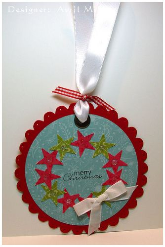 Ornament Tag - Avril