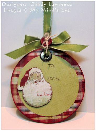 Santa Gift Tag - OHS