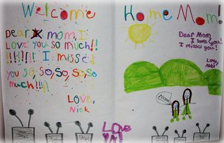 Welcome Home Sign 2010