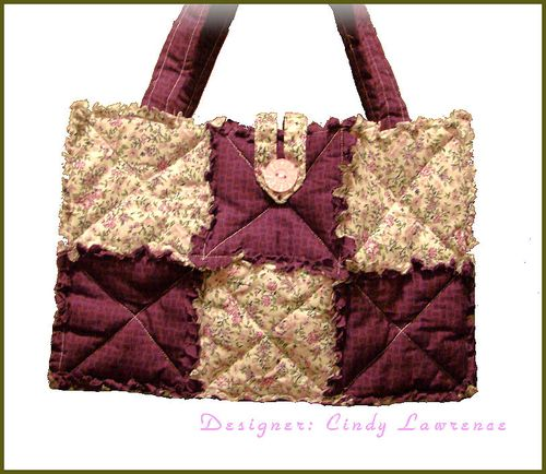 Rag Quilt Tote 2 - OHS