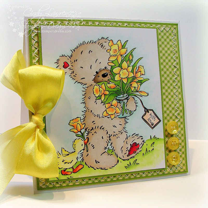 Crafters Companion Someone Special Popcorn Bear 1 - OHS