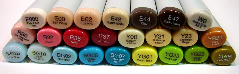 Penny Black Rain or Shine 1 Copic Colors - OHS
