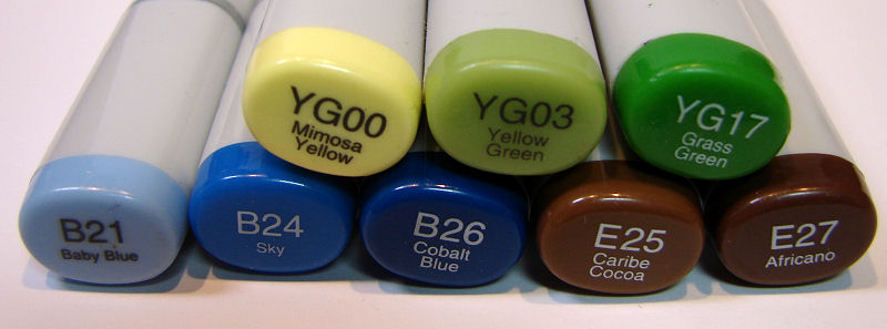 Berry Sweet 1 Copic Colors - OHS