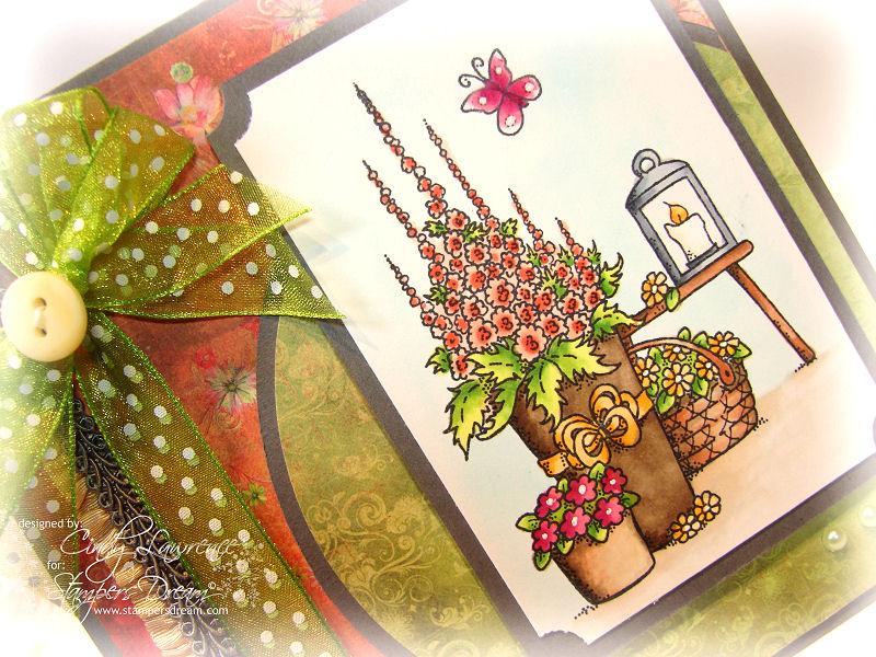 Stampavie Flower Planters 1 Close-Up - OHS