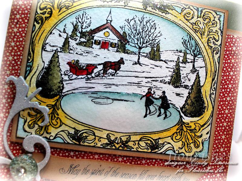Christmas Postcard 1 Close-Up - OHS