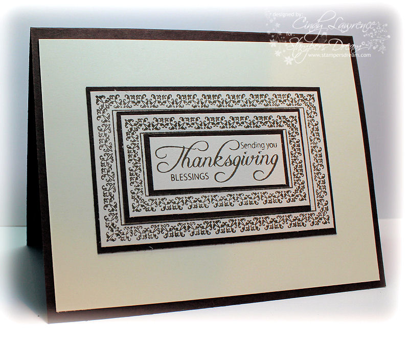 Give Thanks Nested Frames 1 (inside of card) - OHS