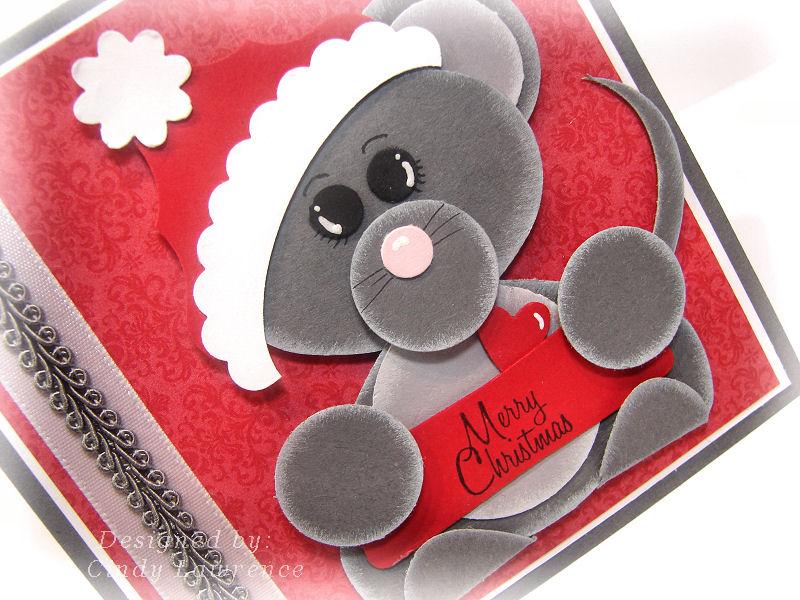 Santa Mouse Close-Up - OHS
