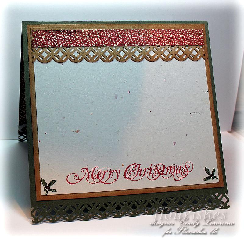 Christmas Postcard 1 Inside - OHS
