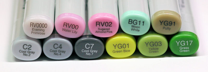 Hello Spring 1 Copic Colors - OHS