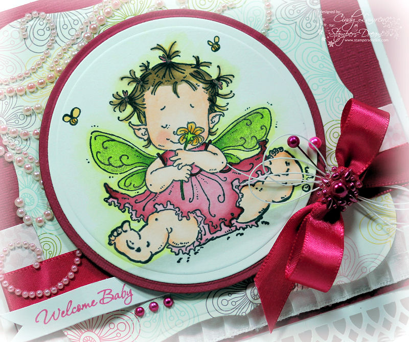 Stampavie Baby Fairy Flora Close-Up - OHS