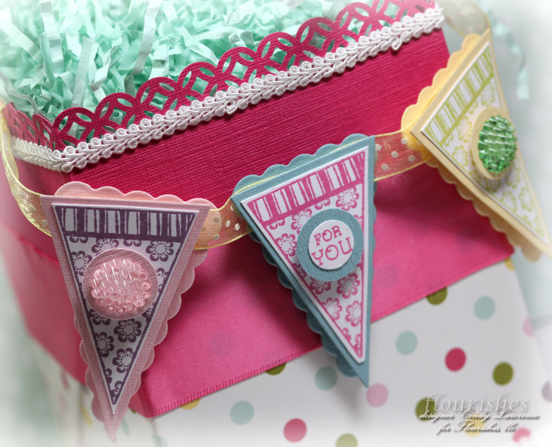 Birthday Pennants 1 Close Up - OHS