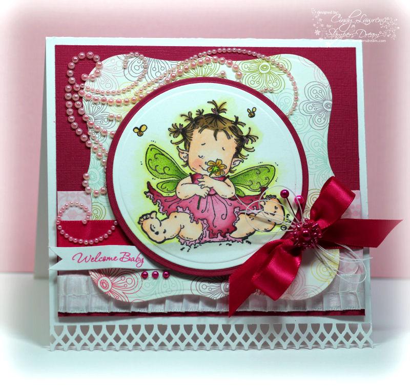 Stampavie Baby Fairy Flora 1 - OHS