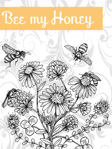 Bee+My+Honey+Graphic