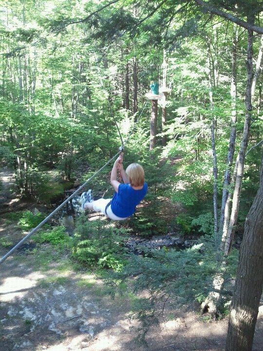 Gunstock Zipline Adventure Course 2 - OHS