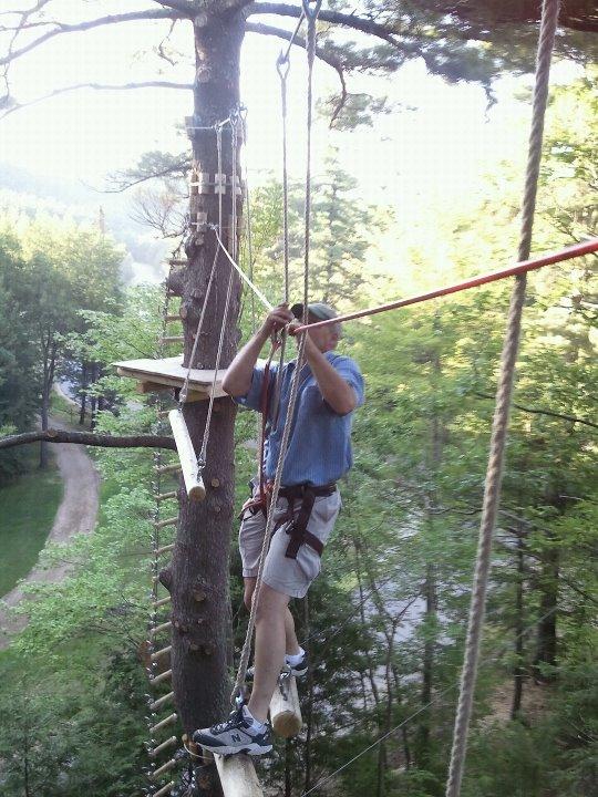 Gunstock Zipline Adventure Course 5 - OHS
