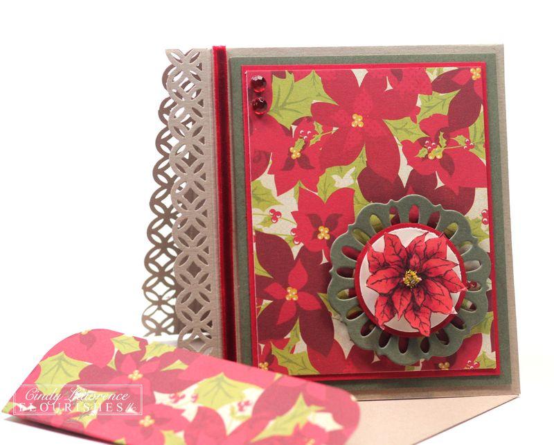 Poinsettia & Boxwood 7.3 - OHS