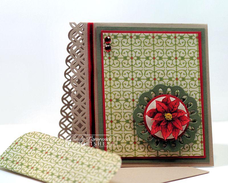 Poinsettia & Boxwood 7.4 - OHS