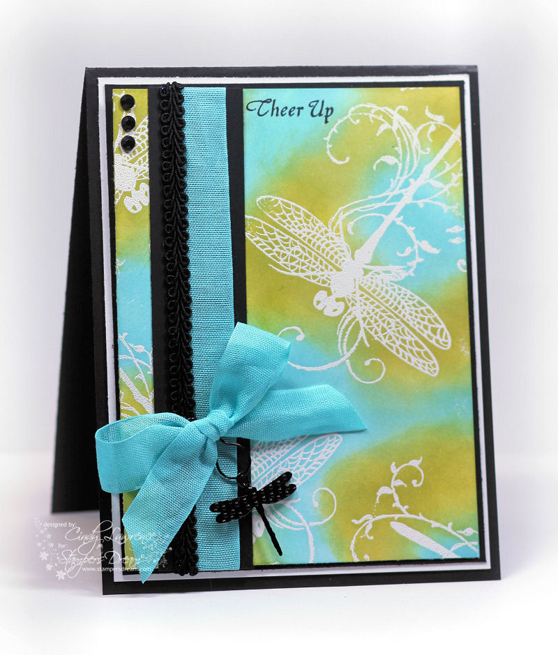 Stampendous Dragonfly Vine 1 - OHS