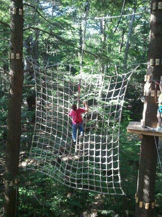 Gunstock Zipline Adventure Course 3 - OHS