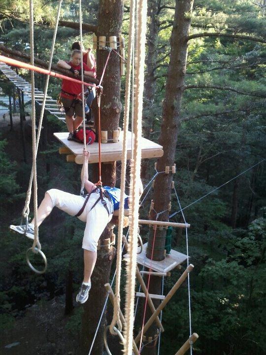 Gunstock Zipline Adventure Course 1 - OHS