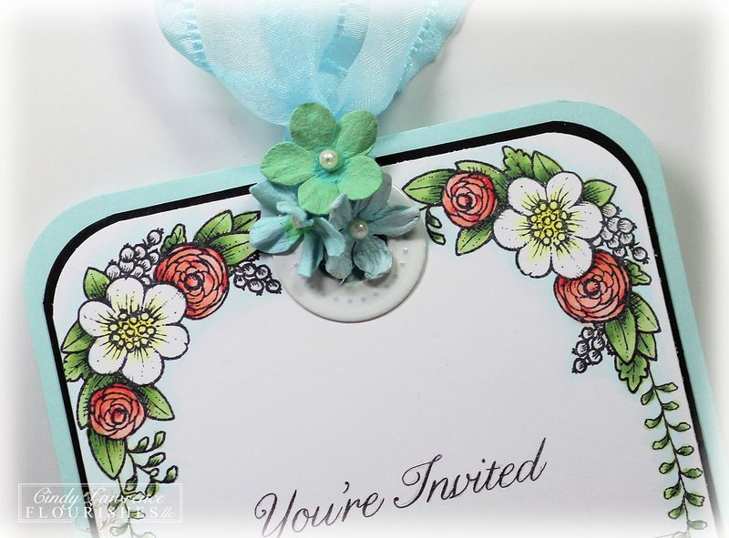 Summer Blossoms - Wedded Bliss 1 Close Up - OHS