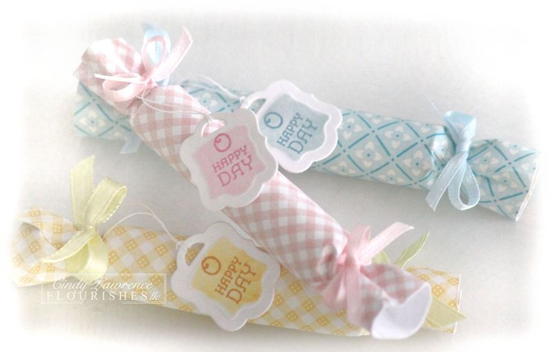 Birthday Pennants 2 Lip Gloss Rolls - OHS