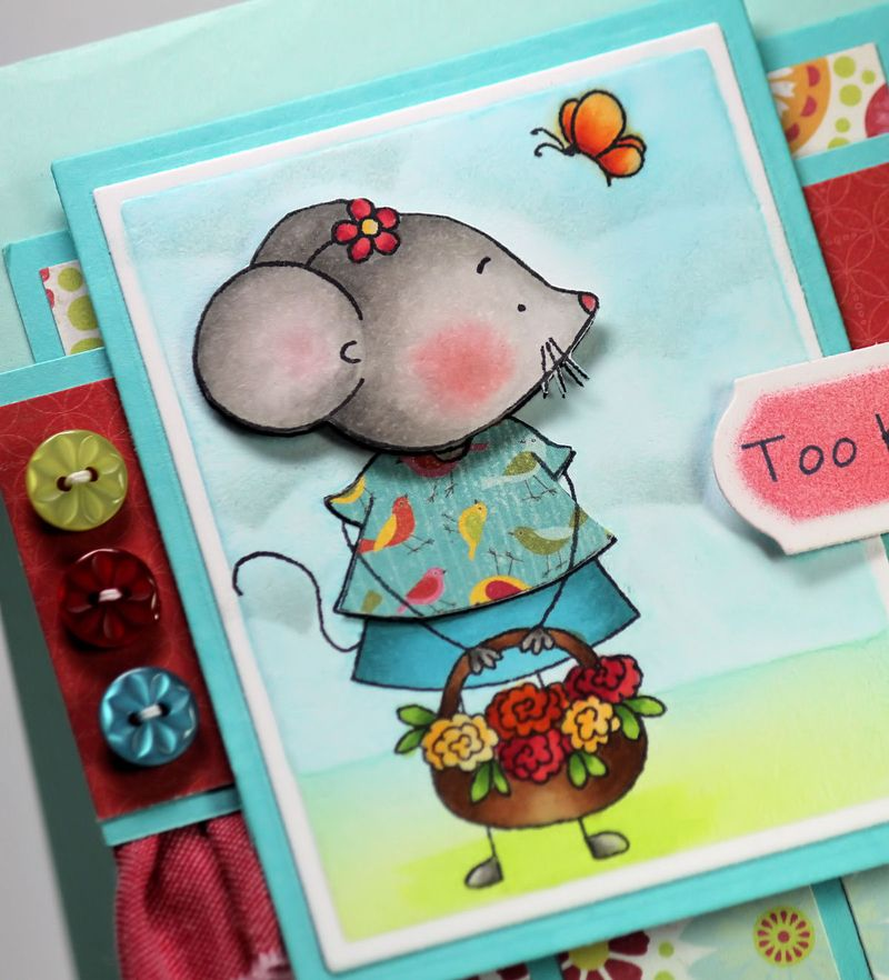 Mouse in the House Blessed Mouse 1 Close Up - OHS