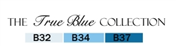 Copic True Blue
