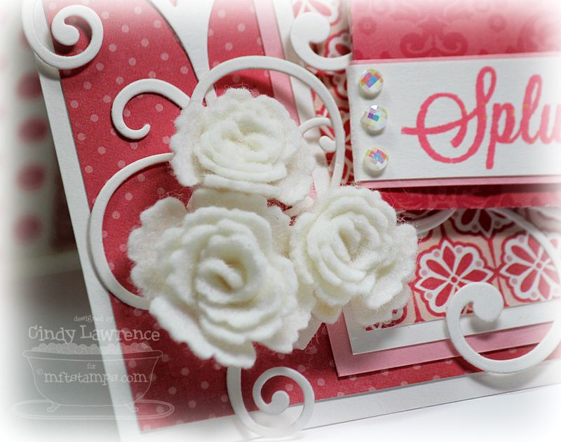 Gift Card Greetings 1 Rose Detail - OHS