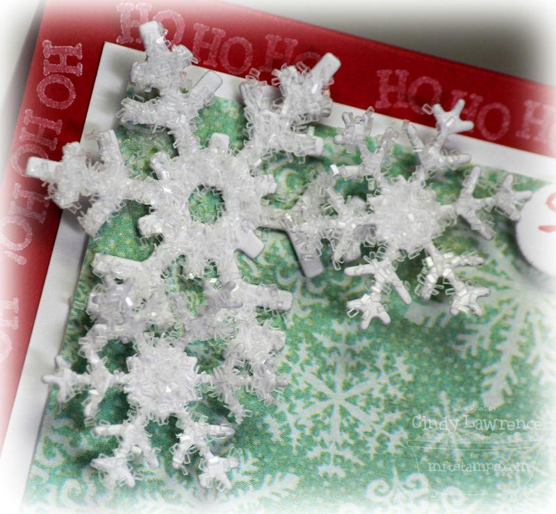PI Santa Boy 1 Snowflake Detail - OHS