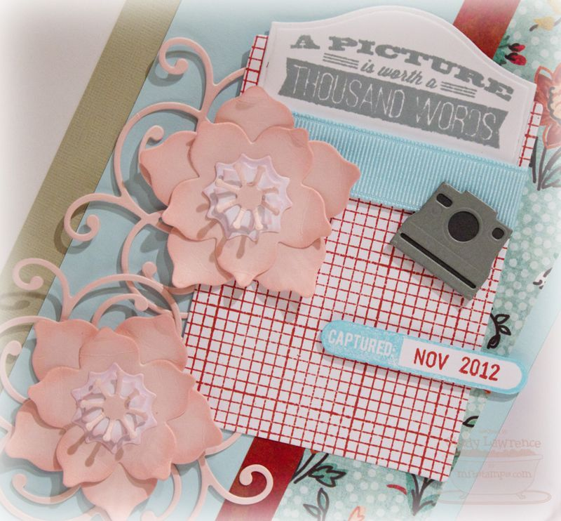 MFT Dec Release Day 2 Scrapbook Page Sentiment Detail