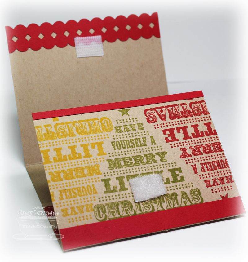 Christmas Gift Card Holder 2 Inside - OHS