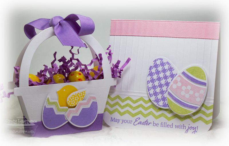 Embellished Eggs Basket & Card 1 - OHS